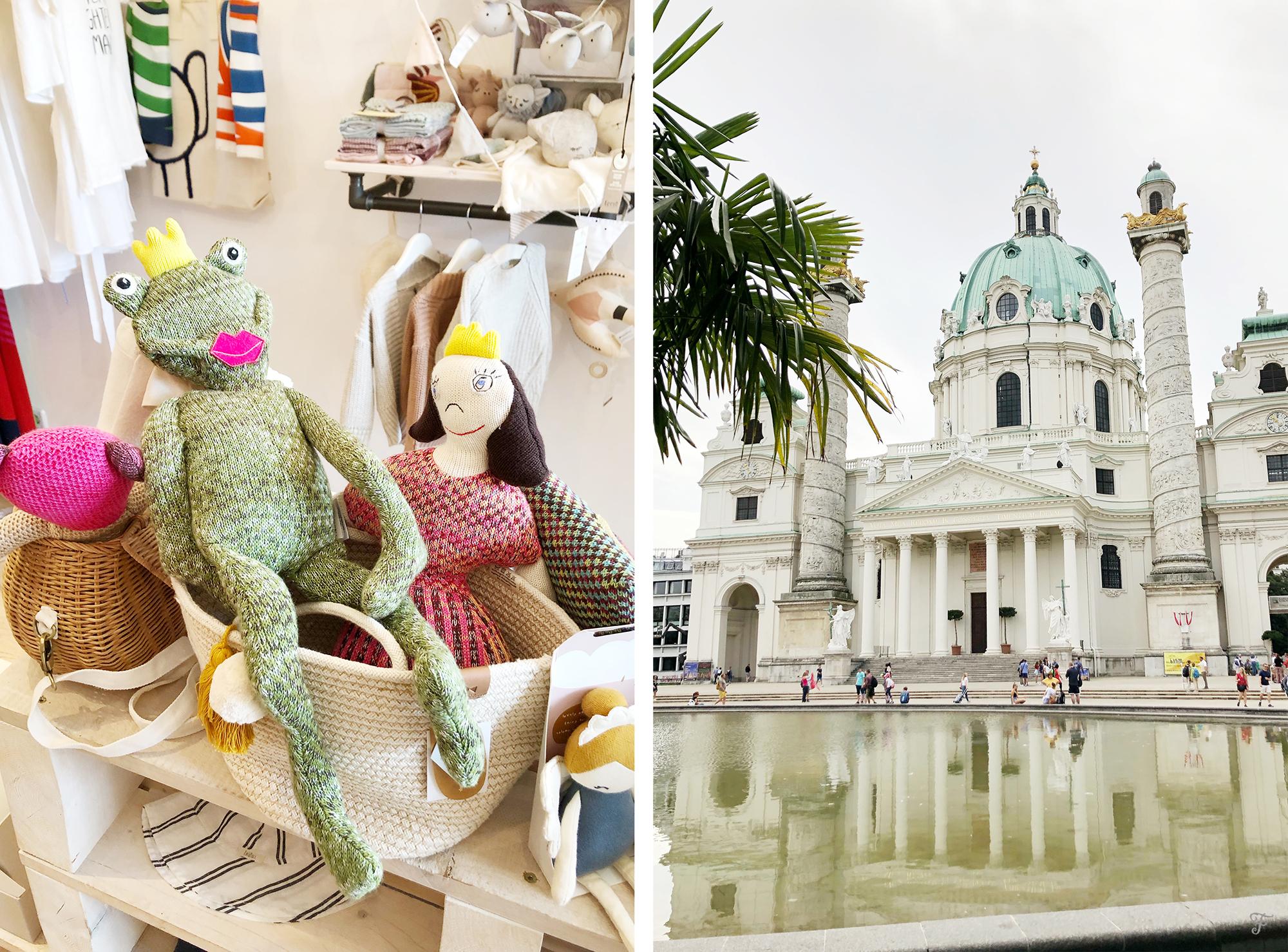 Der Kleine Salon frog anf Karlsplatz